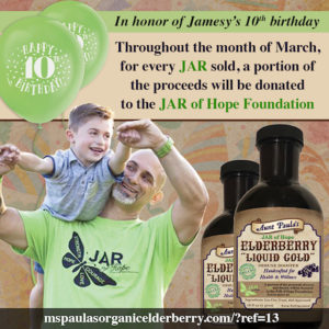 Support JAR of Hope Foundation with your purchase!