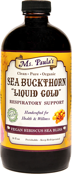Sea Buckthorn Liquid Gold - Vegan Hibiscus Sea Bliss